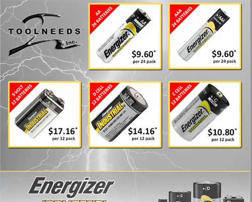 Energizer Battery Promotion